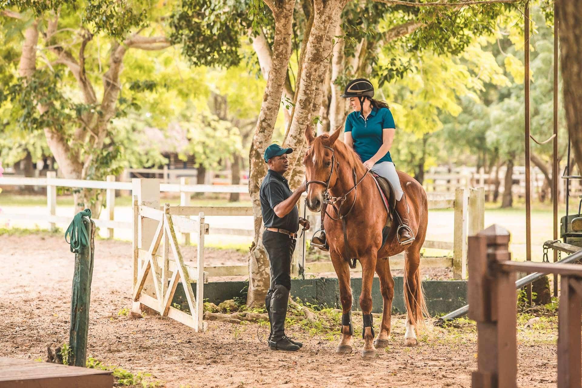 Equestrian and Horseback Riding at Casa de Campo Resort & Villas Polo Club in the Dominican Republic